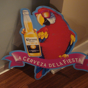 CORONA BEER METAL SIGN/LIGHT UP BOTTLE ADVERTISING SIGN/NEON SIGN - Signs