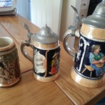 Grandad's Beer Steins