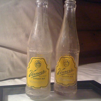 Vintage Vernors ACL bottles