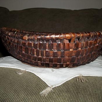 1870&#039;s Old Buttock Basket 