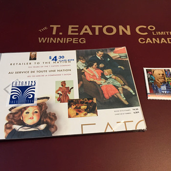 The T. EATON Co Limited, Winnipeg EATON 125 Stamps - Stamps