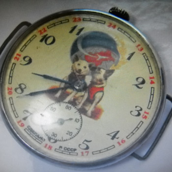 My Soviet Union Space Dog vintage Watch