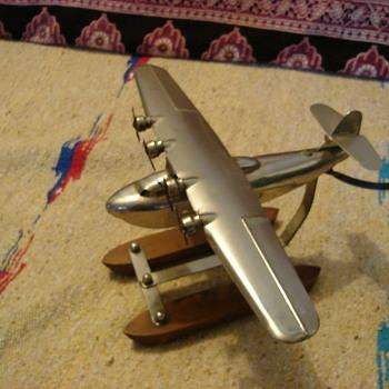 Pan Am Martin M-130 Aircraft Lamp - Art Deco
