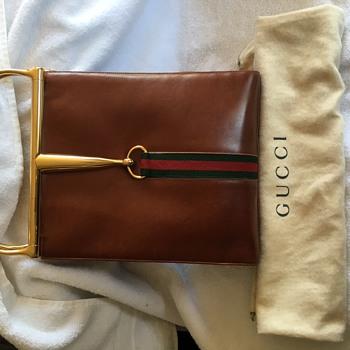 Vintage Gucci Snaffle Bit Bag Circa 1960s