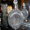 haig pinch bottle  silver overlay