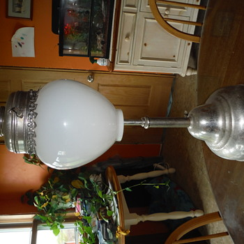Unidentified table lamp