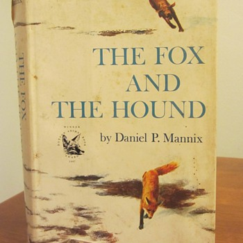 The Fox and the Hound - 1967 First Edition - Books