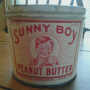 Sunny Boy Peanut Butter Tin