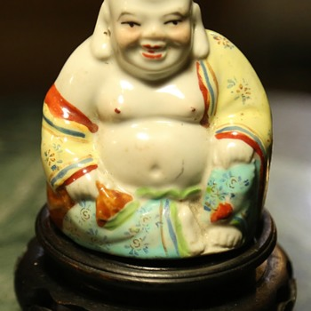 Little Fat Buddha with Pierced Ears - Asian
