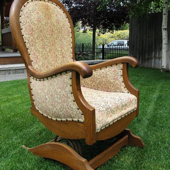 Platform or spring rocking chair