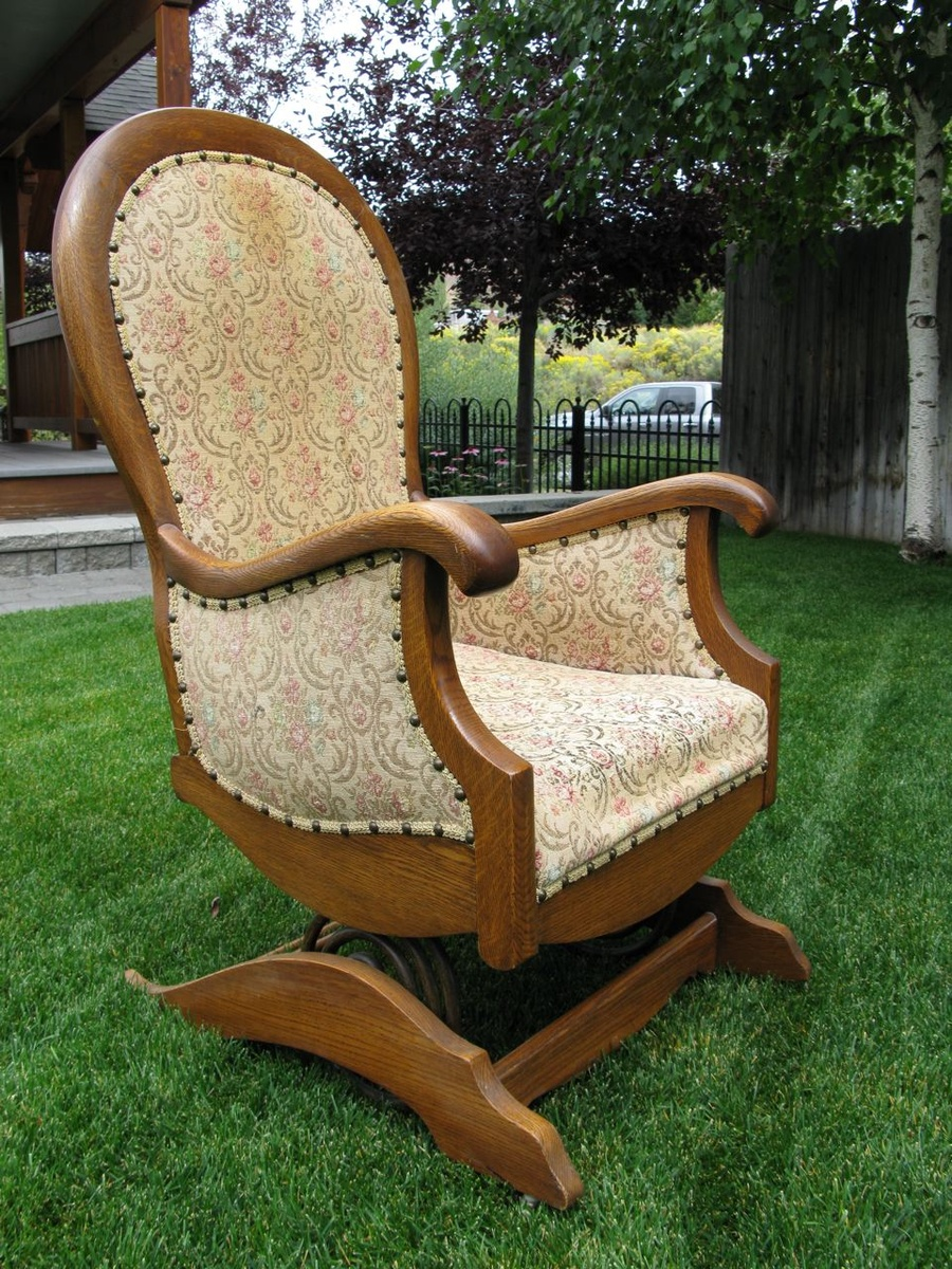 Platform or spring rocking chair collectors weekly - Rocking chair but ...