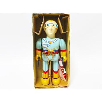 Gekko Kamen Battery Op tin. - Toys