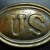 Union Calvary Officers Belt Buckle