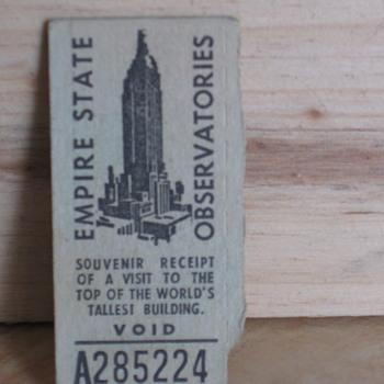 ticket 1955 - Paper