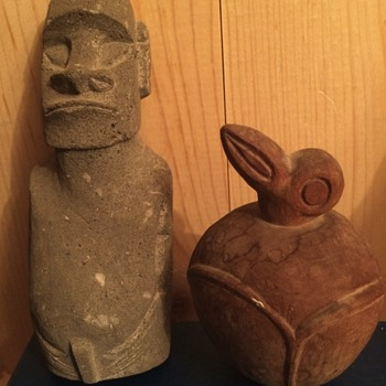 Easter Island - Figurines