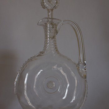 Whitefriars Claret Jug - Art Glass