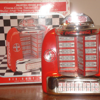 Coca Cola Tabletop Jukebox - Coca-Cola