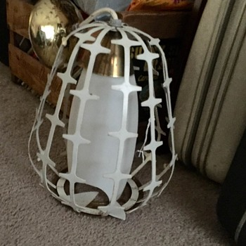 Mid Century Light (broken globe)