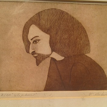 Rare Rubin Etching?