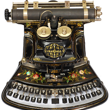Crandall typewriter - 1886 - Office