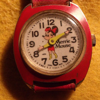 Merrie Mouse Wrist Watch - Wristwatches