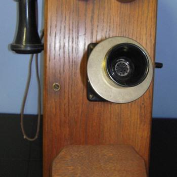 Stromberg Carlson Wooden Telephone