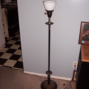 old floor lamp