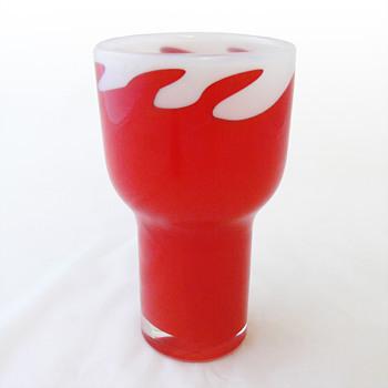 Vase, Heikki Orvola (Nuutajärvi Notsjö, ca. 1970) - Art Glass