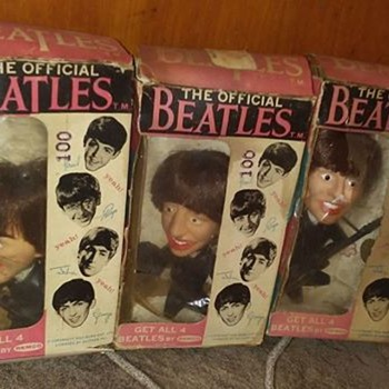 1960's Remco Beatles Dolls !!!