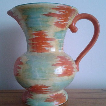 1930s WadeHeath Jug - Art Deco