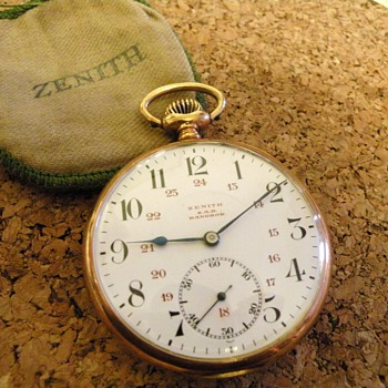 My Zenith pocket watch
