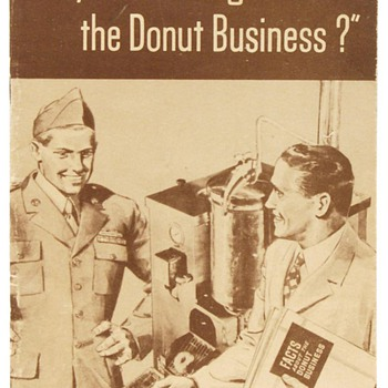 Post WWII Donut Machine and Display