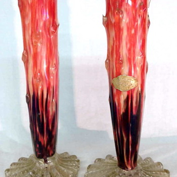 "Welz Thorn Vase Pair – Breaking Some of the ""Rules"" !!"