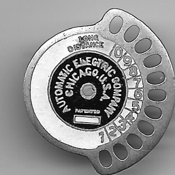 Automatic Electric (Strowger) and Telephone Co. Employee Badge