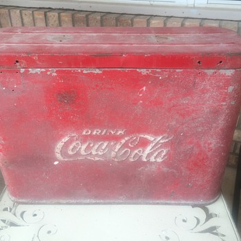 1950's Coca cola airline cooler - Coca-Cola