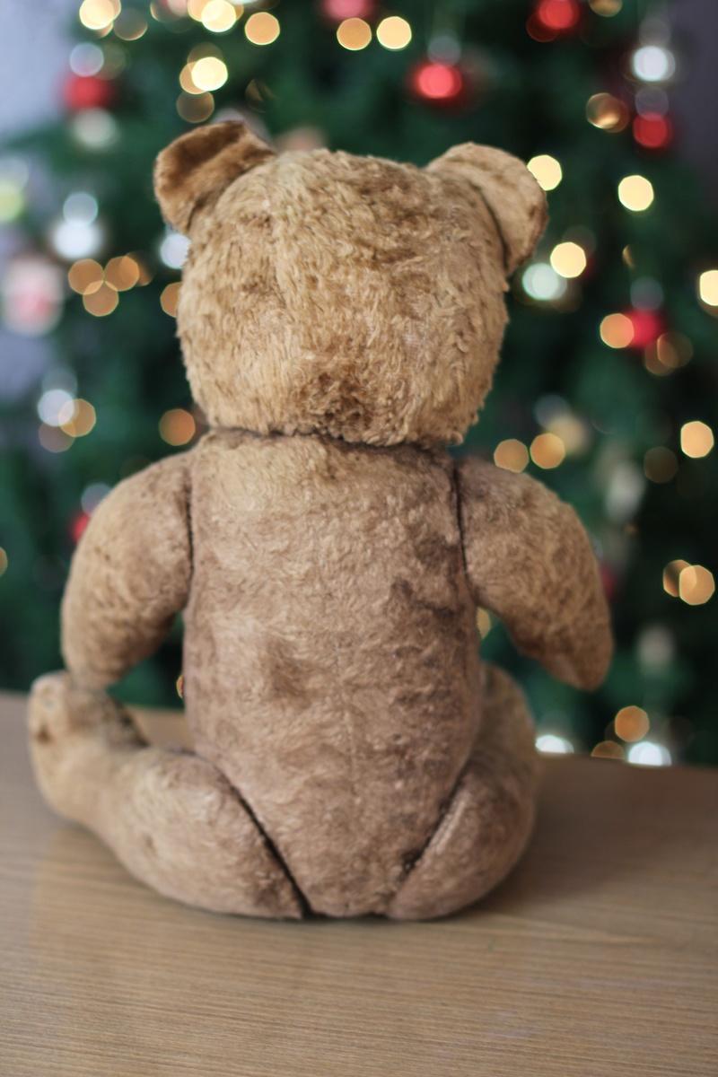 Asian teddy bear glass figurines her❤️ Bonne