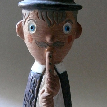 a whistle blower - Art Pottery