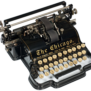 Chicago typewriter - 1899 - Office