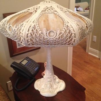 Cast Iron ?  Lamp  - Lamps