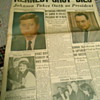 JFK Assassination Newspapers
