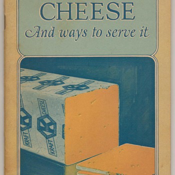 1930&#039;s - Kraft Cheese and Ways to Serve It - Books