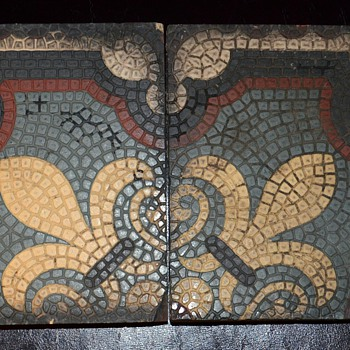 Interesting Old Tiles i found - any info? - Art Pottery