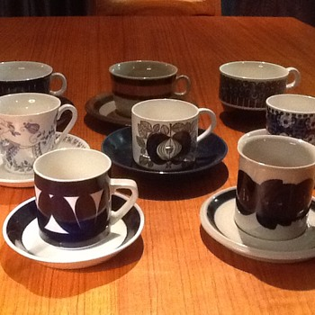 Our growing collection! Tea anyone? - Mid-Century Modern
