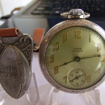 """Laddie Athlete"" Football Pocket Watch - Pocket Watches"
