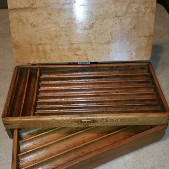 Irwin Auger Bit Box Pat. 1884 - Tools and Hardware