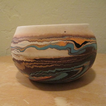 Nemadji Indian River Pottery (not true Native American Pottery) - Art Pottery