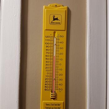 John Deer Thermometer  1960's