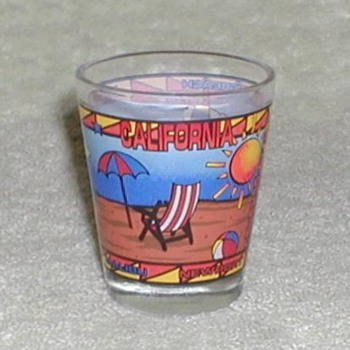 California Shot Glass - Glassware