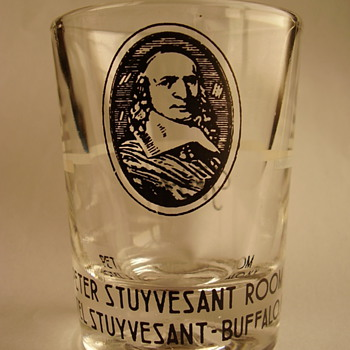Stuyvesant Hotel, Buffalo, NY Shot Glass - Glassware