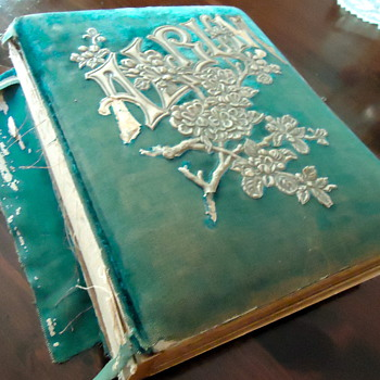 Antique Photo Album:  To Restore or Not.   What say ye? - Books